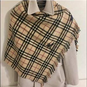Authentic Burberry nova check shawl/large scarf